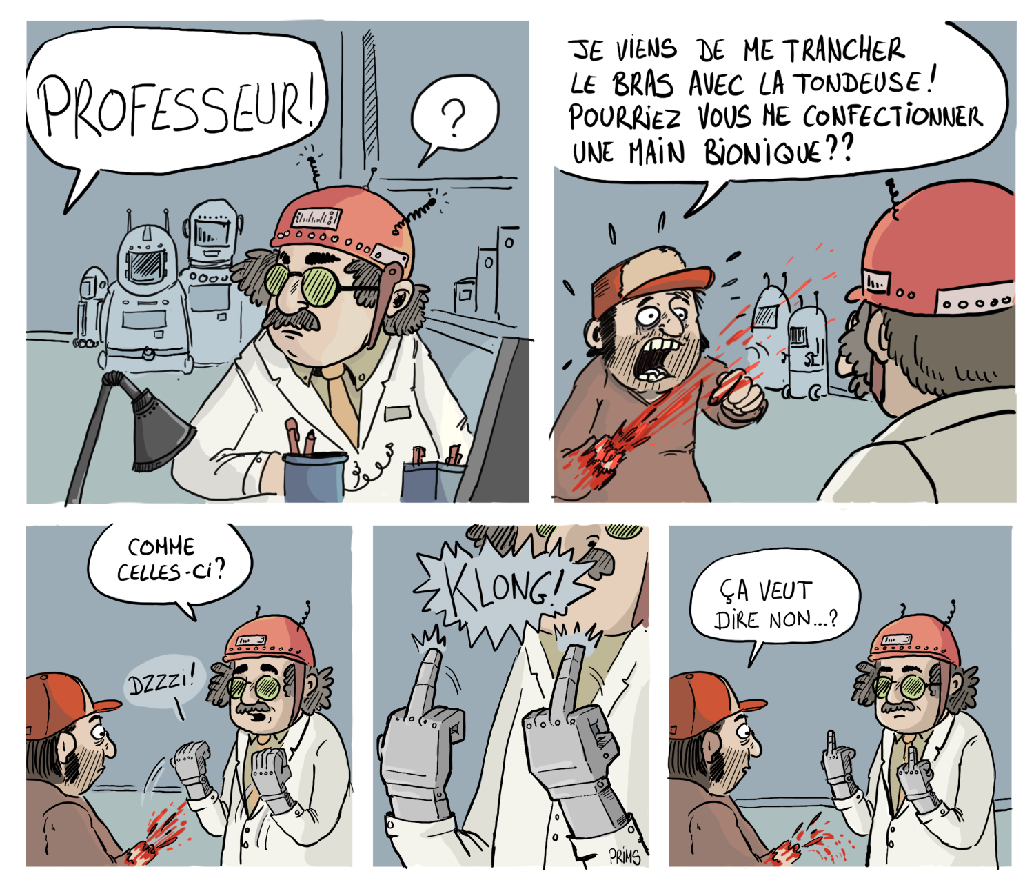 Dessin, BD : Biomain